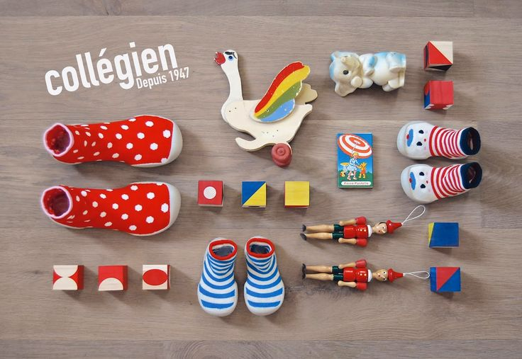 Collégien kid's slippers - available at Lillahopp Online Shop