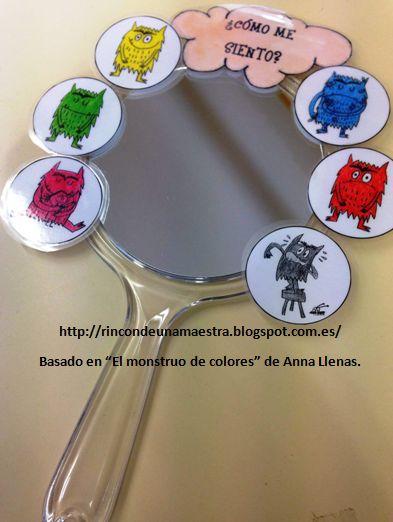 Rincón de una maestra: El espejo de las emociones EL MONSTRUO DE COLORES