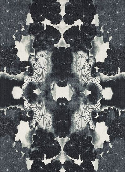 Intriguing floral pattern
