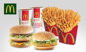Groupon - 2 menus maxi best of au choix entre 6 sandwichs valable sur place ou au drive à 9,90 € chez McDonald's Mantes-la-Ville à Mantes La Ville. Prix Groupon : 9,90€