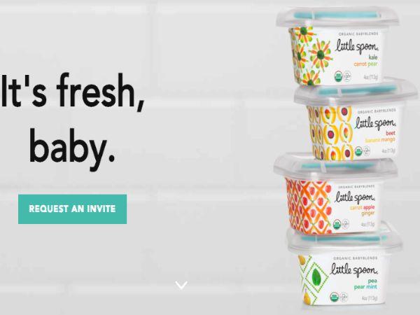 赤ちゃんの食育にもつながるオーガニックなベビーフード専門定期購入サービスLittle Spoon