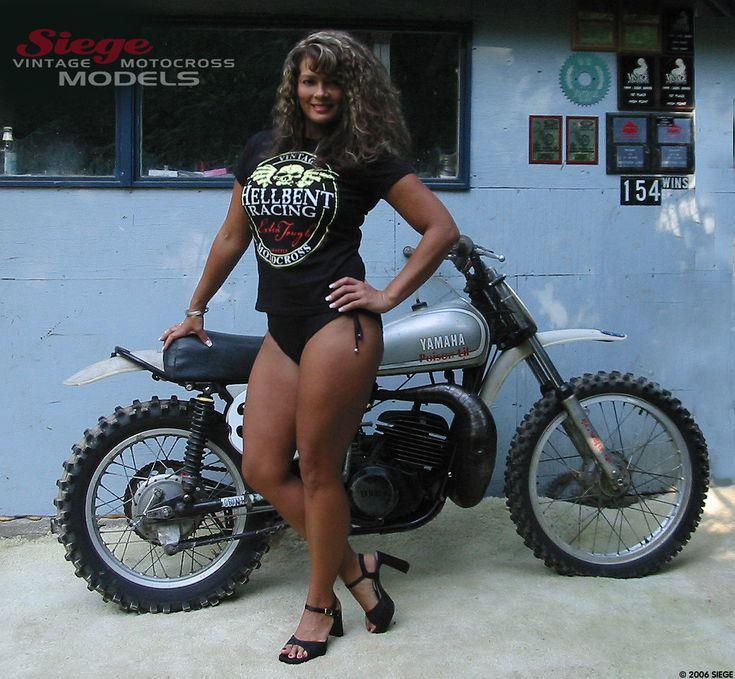Siege Models Old Motorcycles Motorbike Girl Motorcycle