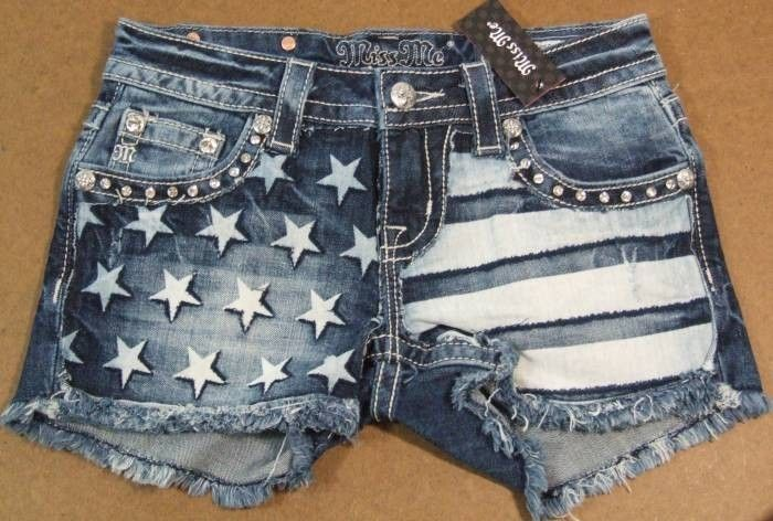 Miss Me shorts, I saw these at Buckle, so so so perfect...