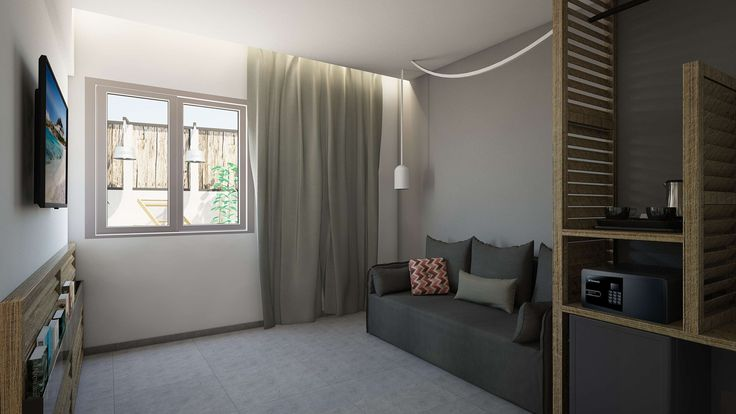 Iviskos Suite - Living Room, Elakati Luxury Boutique Hotel, Rhodes , Greece