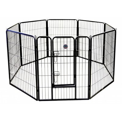 Go Pet Club Heavy Duty Play and Exercise Pet Pen