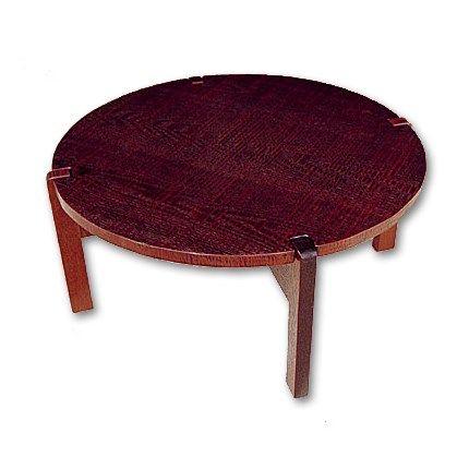 JAPANSQUARE.com - 미니 원형 테이블 십자 다리