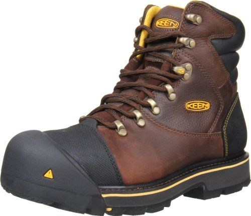 Keen Utility Men's Milwaukee 6-Inch Steel Toe Work Boot,Slate Black,10.5 D US - http://authenticboots.com/keen-utility-mens-milwaukee-6-inch-steel-toe-work-bootslate-black10-5-d-us/