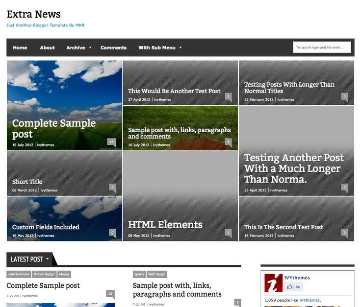 7 best best wordpress themes images on Pinterest | Best wordpress ...