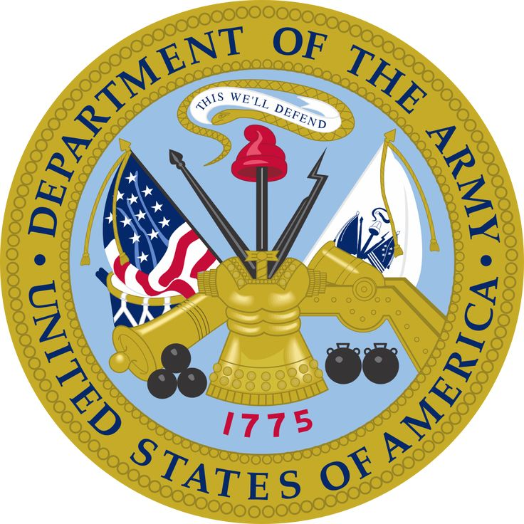 Emblem of the United States Department of the Army - nakrycie głowy ujednolicone z: https://de.pinterest.com/pin/452752568772193544/ Coat of arms of Cuba