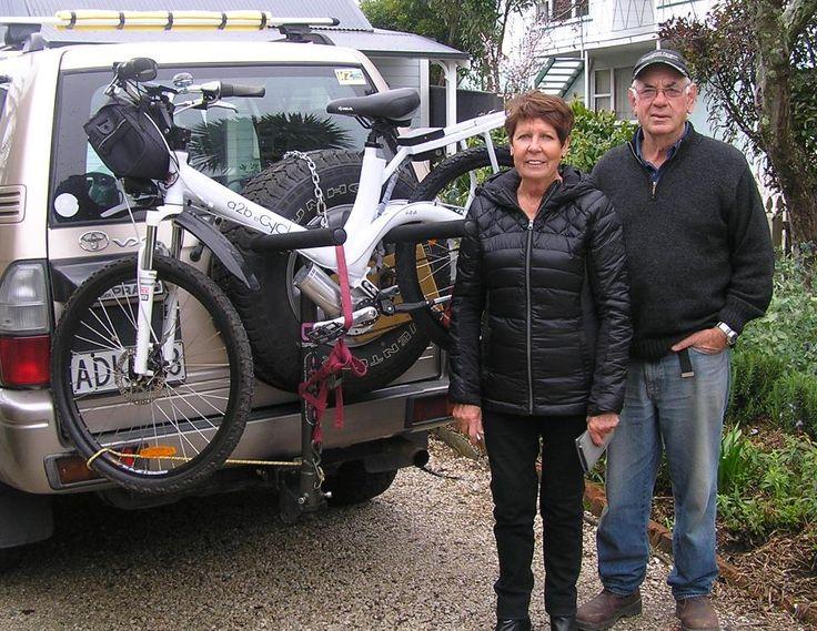 My latest #ecyclist -  Glenys