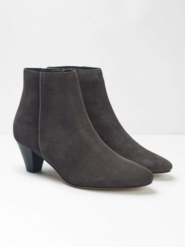 Zadie Point Suede Boots Boots Black Suede Boots Suede Boots