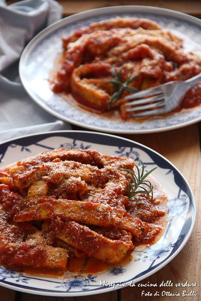 Per cena frittata trippata. ...quando la frittata sembra trippa. Idea per il #meatfreeweek!