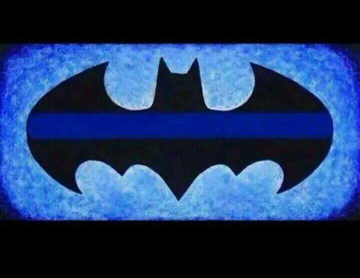 Batman thin blue line.. way cool