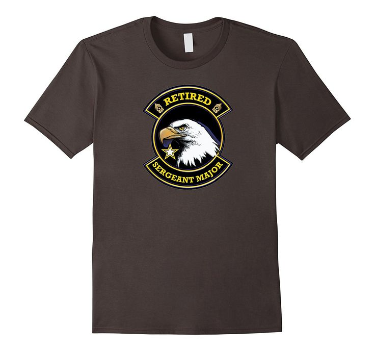 ARMY SERGEANT MAJOR RETIRED T-SHIRT