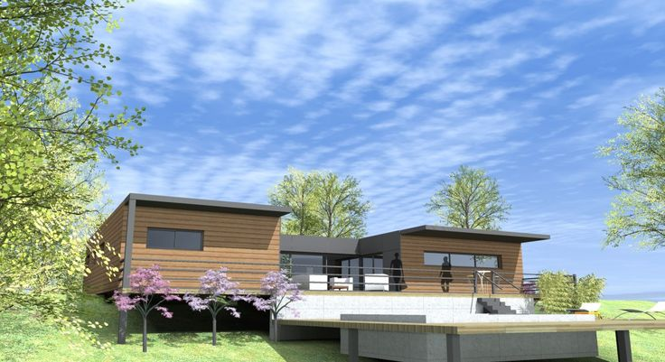 15 best Projet maison images on Pinterest Home ideas, Decks and - orientation maison sur terrain