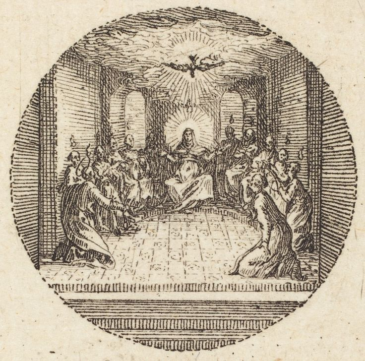 Descent Of The Holy Dove    Jacques  Callot