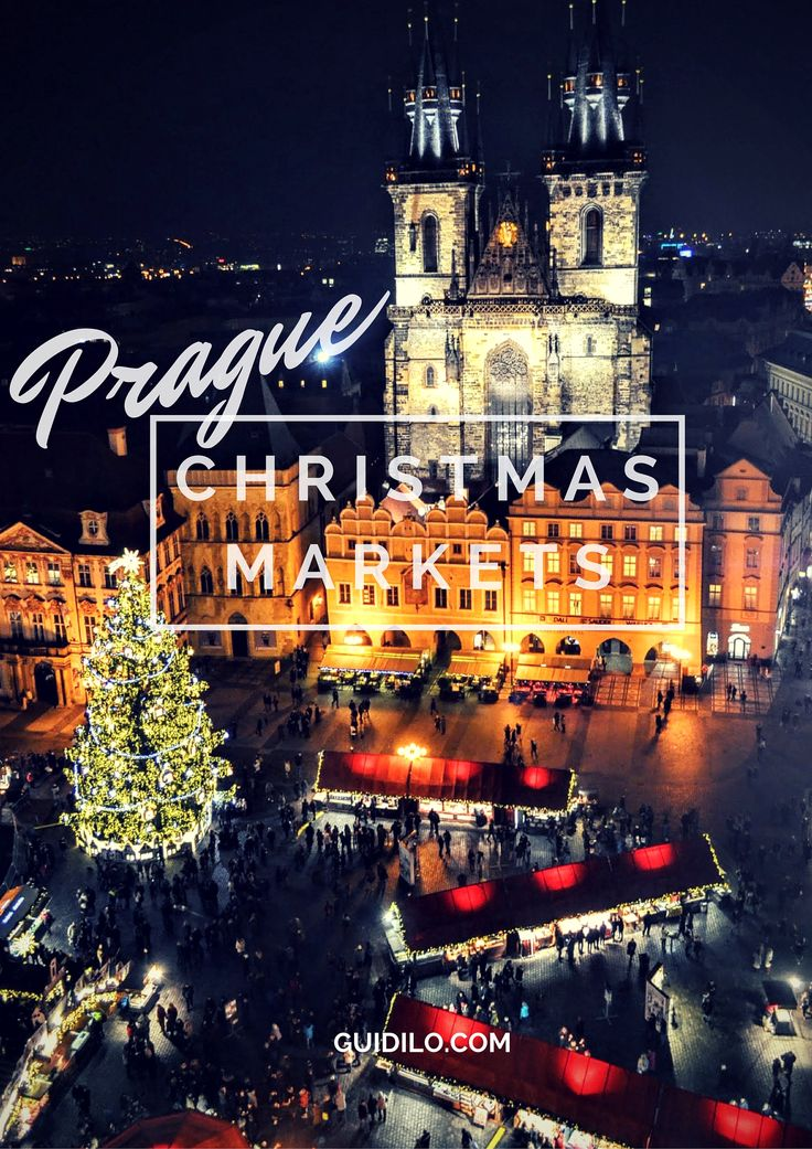 Prague's Best Christmas Markets - Guidilo.com