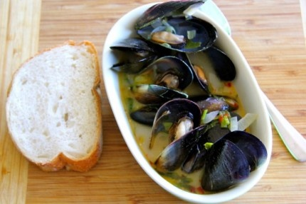 Moules Mariniere Recipe on Best Home Chef: Enter your recipe now to win a kitchen worth $50,000!