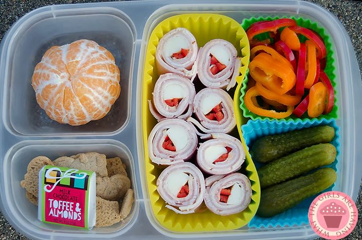 Lunch meat sushi for packed for lunch with @EasyLunchboxes