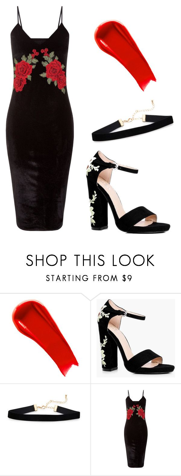 """""""90s Semi-formal"""" by catherinemairi on Polyvore featuring NARS Cosmetics and Boohoo"""