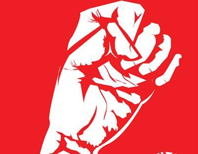 """International Worker's Day "" poster design http://be.net/gallery/34489159/International-Workers-Day-"