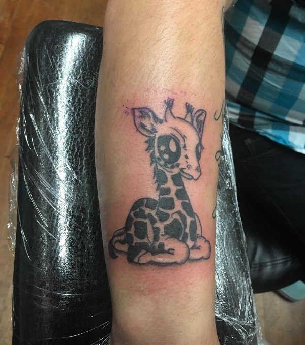 Tatuaż żyrafa Znaczenie Historia 40 Zdjęć Pomysł Na