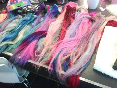55 best hair extensions images on pinterest colors hairstyles crazy colorful hair extensions pmusecretfo Gallery