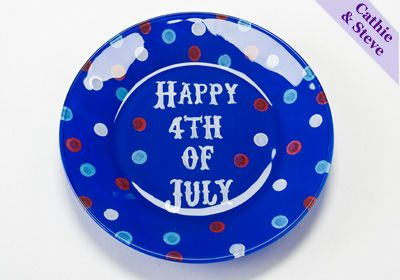 4th of july glasses craft