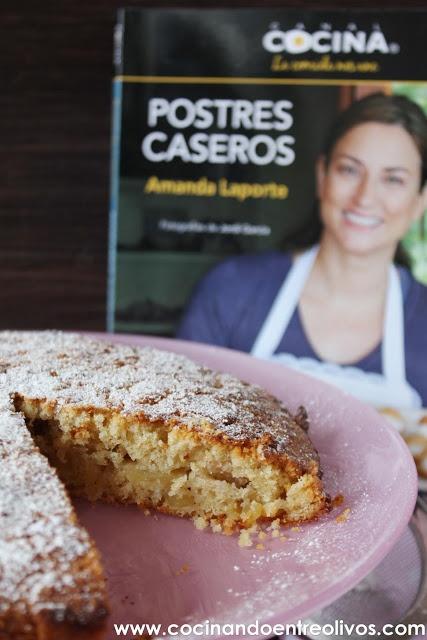 Cocinando entre Olivos: Tarta sueca de manzana. Receta paso a paso y sorteo del libro Postres caseros de Amanda Laporte