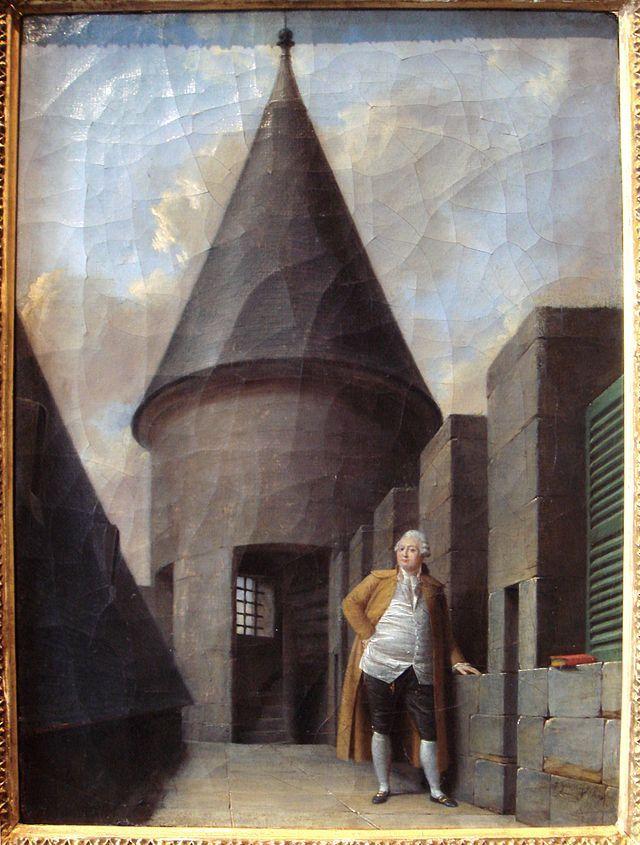 Louis XVI at the Tour du Temple Jean Francois Garneray 1755 1837 - Tour du Temple — Wikipédia
