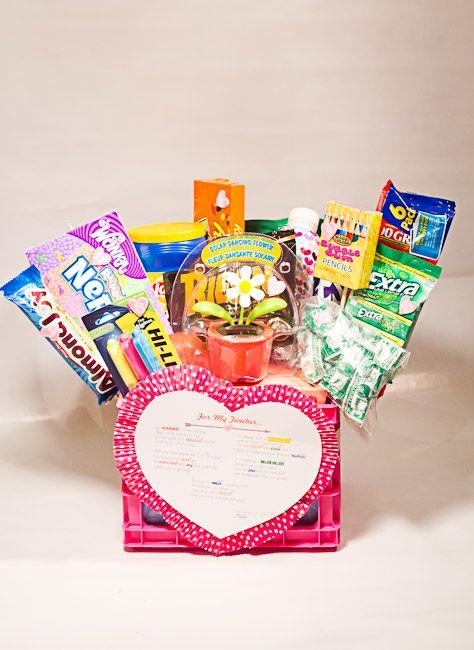 Teacher Valentines Gift Basket