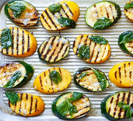 Courgettes are at their best in the summer months, take advantage and whip up a quick, fresh side dish with garlic and herbs