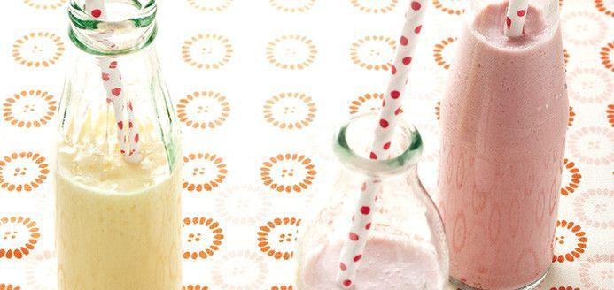Yogourt à boire aux fruits style YOP Recettes | Ricardo