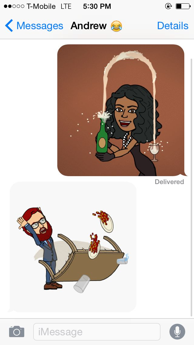 Peasants flirt with words. #Queens use apps like Bitmoji to do their bidding. (Where else can you make your avatar do the Kim Kardashian in that champagne-from-her-butt thing?!)    - Seventeen.com