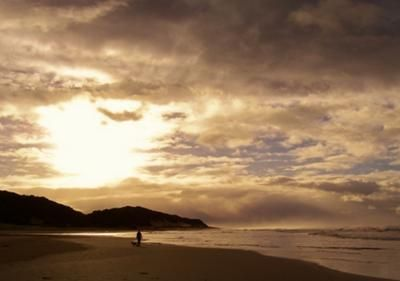 Bonza Bay beach in East London, South Africa