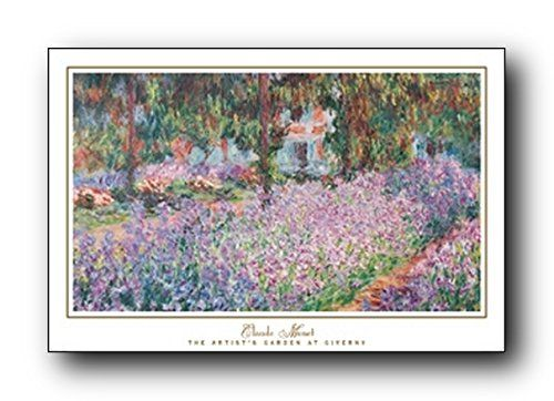 This beautiful Claude Monet garden at giverny picture art print poster will help to bring new color and life to any place in your home or office! It captures the image of beautiful flower garden which is sure to make this wall art focal point of your home. This beautiful wall poster will brighten up your room and make heads turn towards it. It will grab you many compliments from your guests. Hurry up! Order this poster for its excellent quality with high degree of color accuracy.