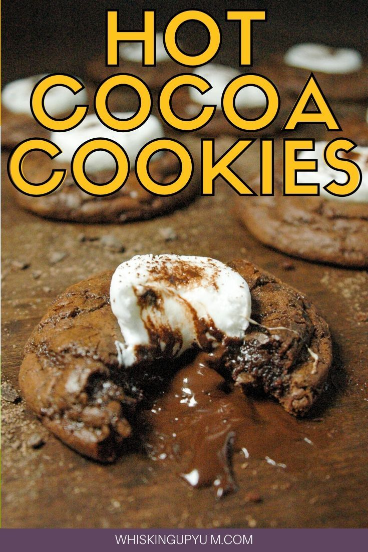 These Hot Cocoa Cookies With Marshmallows Are Little