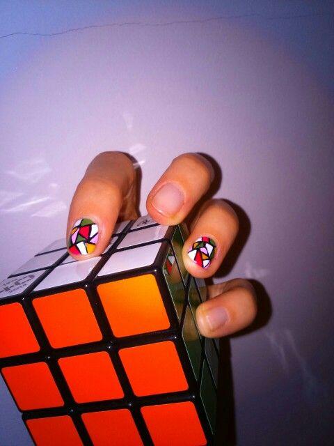 Rubik's cube #colors #nerd #rubik