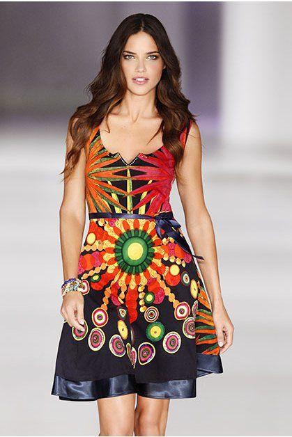 Адриана Лима dress