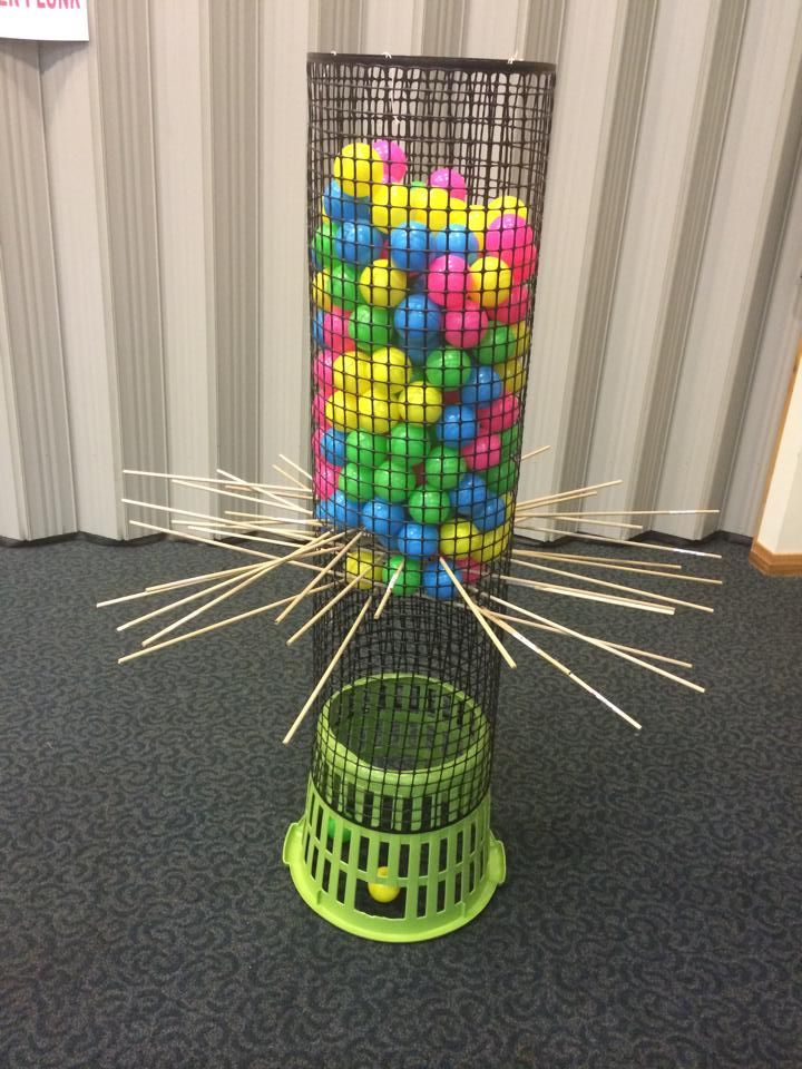 Anyone for Giant Ker-Plunk?