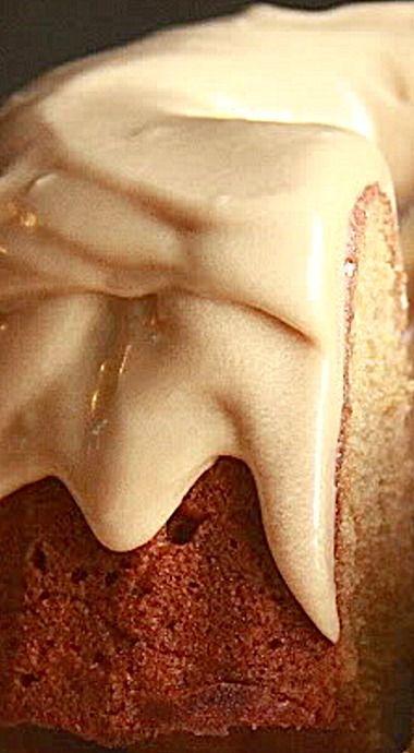 Burnt Sugar Bundt Cake with Coffee Caramel Frosting ❊