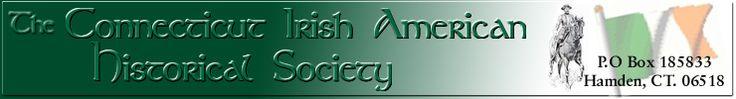Connecticut Irish American Historical Society Main Banner, http://www.ctiahs.com/