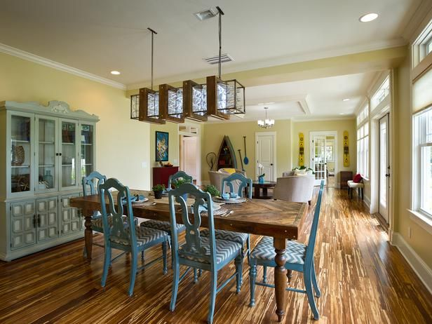 Dining Room   Removing walls between the dining room and living room  allowed Blog Cabin. 18 best Removing wall that separates kitchen and living room