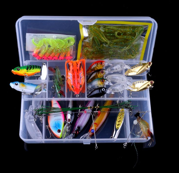 ==> [Free Shipping] Buy Best Fishing Lure Mixed Minnow/Crankbait Spinner Spoon Metal VIB Lure Hooks Artificial Bait Fishing Lure Kit Set Set015 Online with LOWEST Price | 32816764878