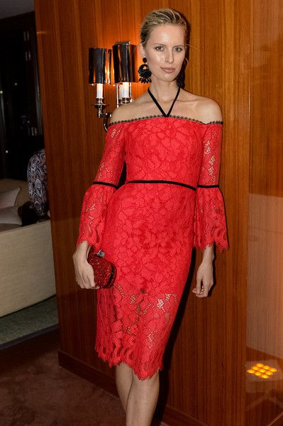 Karolina Kurkova Photos Photos - Karolina Kurkova attends the National Autism Day Dinner at Cipriani Downtown Miami on April 1, 2017 in Miami, Florida. - Haute Living and Ulysse Nardin Honor National Autism Day With Hassan Whiteside