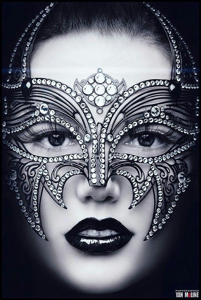 ♡Fantasy face makeup& Masquerade Mask