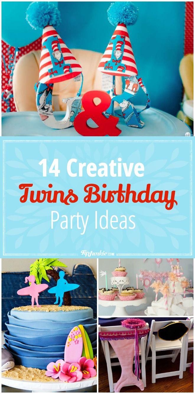 Best 25 Twin Birthday Parties Ideas On Pinterest Babies