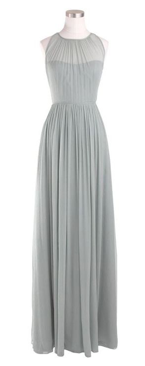 Love the length, long dresses/skirts are so hard to find these days, of course I would have to find a complimenting cardigan/light jacket to wear to cover my arms.