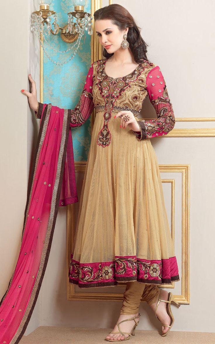 Trendy Or Elegance Indian Frocks Designs 2016 | Latest Fashion Of Indian Frocks | PK Vogue