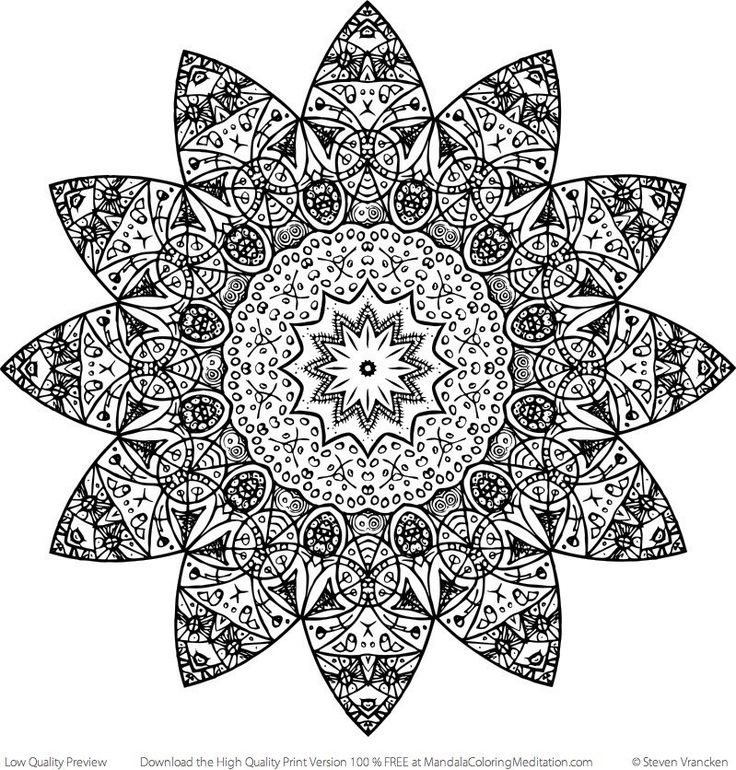 Zen Mandalas Coloring Book : The 364 best images about ✐☸ mandalas~rangoli~islamic patterns